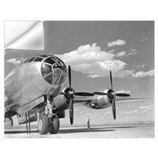 A U.S. Army Air Forces B-29 Superfortress bomber a Wall Decal