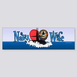Navy Wife Sticker (Bumper)