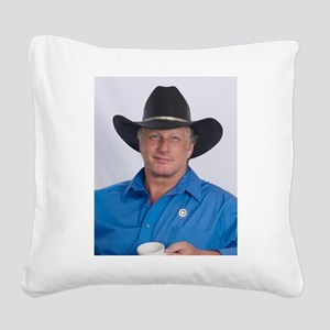 Wild Bill for America! Square Canvas Pillow