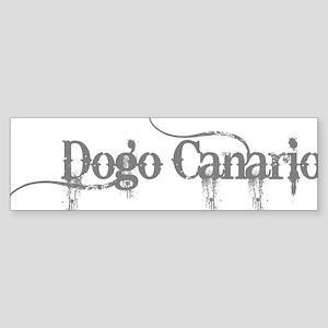Dogo Canario Sticker (Bumper)
