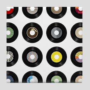 Records Tile Coaster