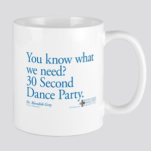 30 Second Dance Party Quote Mug