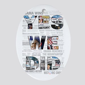 Yes We Did Newspaper Collage with headline  Or