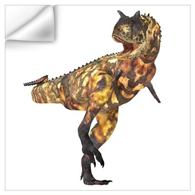 Carnotaurus dinosaur Wall Decal