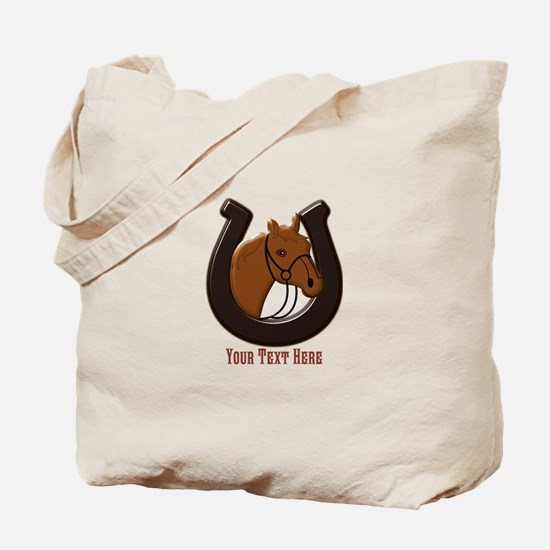 Funny Western pleasure horse Tote Bag