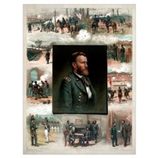 Digitally restored American history print of Ulyss Poster