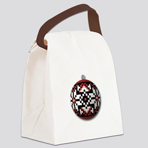 Ukr. Folk Ornament Canvas Lunch Bag