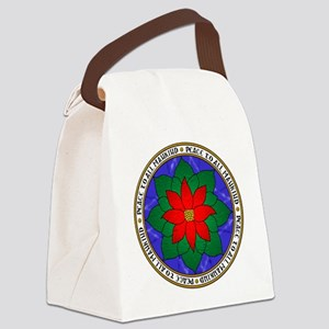 Peace to All Mankind Canvas Lunch Bag