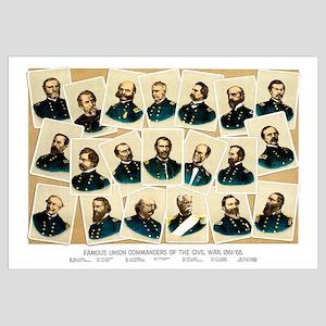Digitally restored Civil War print featuring Famou