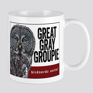Great Gray Groupie Mug