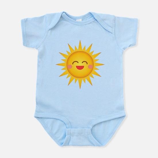 Kawaii Sun Infant Bodysuit