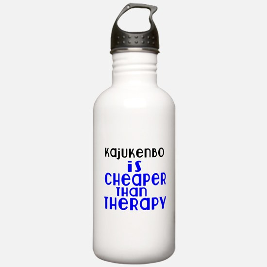 Kajukenbo Is Cheaper T Water Bottle
