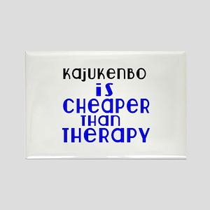 Kajukenbo Is Cheaper Than Therapy Rectangle Magnet