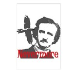 Poe The Raven Nevermore Postcards (Package of 8)