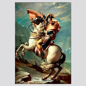 Digitally restored vector painting of Napoleon Bon