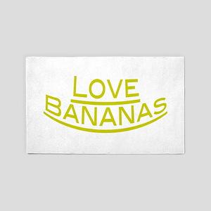 Love Bananas 3'x5' Area Rug