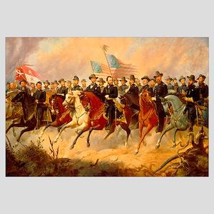 Digitally restored vector painting of Ulysses S. G