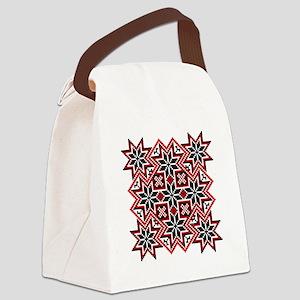 Folk Design 8 Canvas Lunch Bag