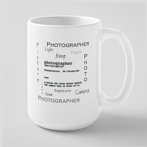 Photographer-Definitions Large Mug