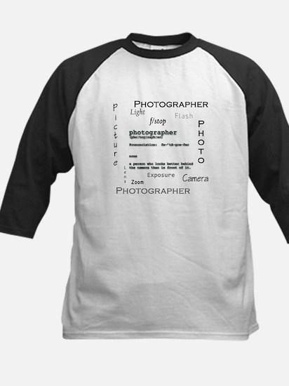 Photographer-Definitions.png Kids Baseball Jersey