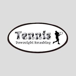 Tennis Slogan Patch