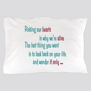 Castle: Risking Our Hearts Pillow Case