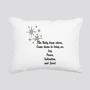Christmas hope Rectangular Canvas Pillow