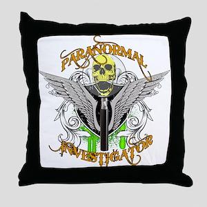Paranormal Investigator Throw Pillow