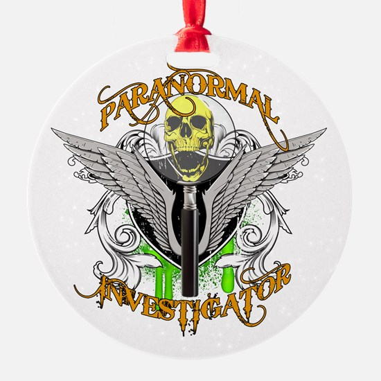 Paranormal Investigator Ornament