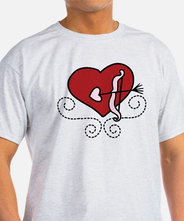 Heart With Bow T-Shirt