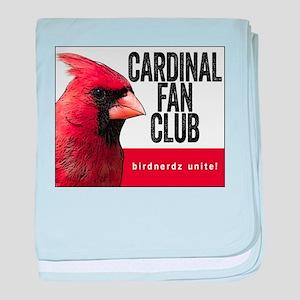 Cardinal Fan Club baby blanket