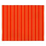 Red and Orange Stripes Pattern King Duvet