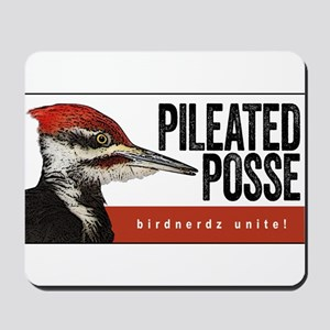 Pileated Posse Mousepad