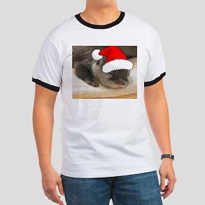 Christmas Otter Ringer T