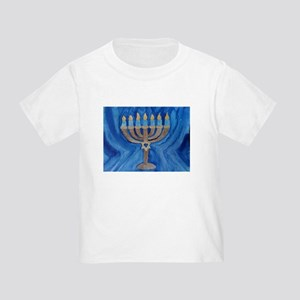 HANUKKAH MENORAH Toddler T-Shirt