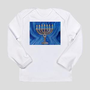 HANUKKAH MENORAH Long Sleeve Infant T-Shirt