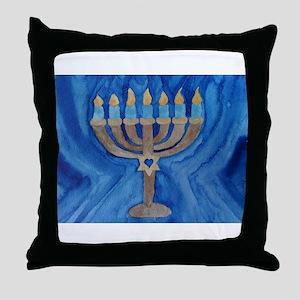 HANUKKAH MENORAH Throw Pillow