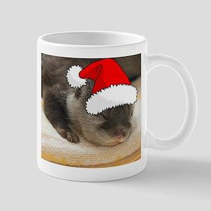 Christmas Otter Mug