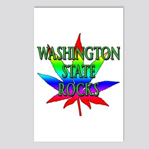 Washington State Rocks Postcards (Package of 8)