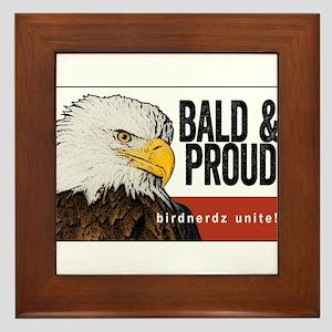 Bald & Proud Eagle Framed Tile