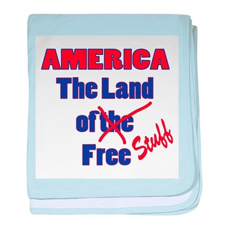 Land of Free Stuff baby blanket
