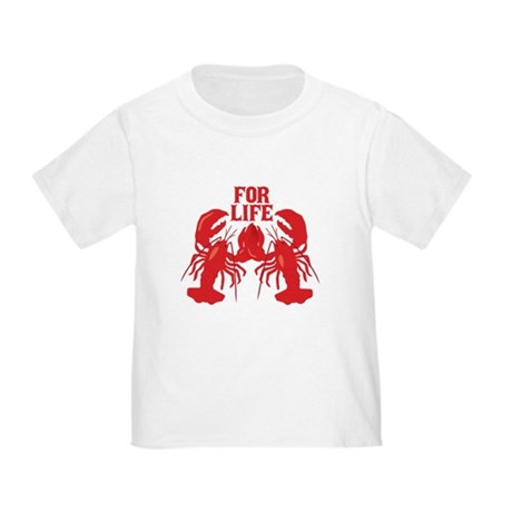 Lobsters Mate For Life Toddler T-Shirt