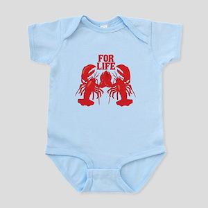 Lobsters Mate For Life Infant Bodysuit