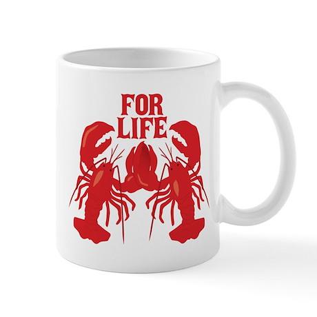 Lobsters Mate For Life Mug