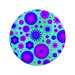 Purple and Blue Hippie Flower Pattern 3.5
