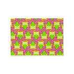 Neon Owl Pattern 5'x7'Area Rug