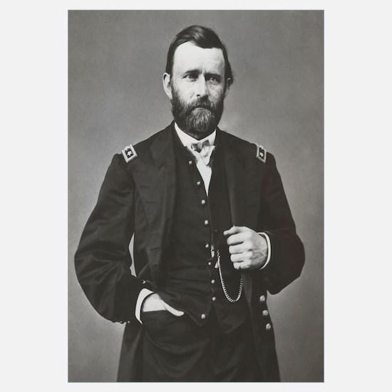 Digitally restored vector portrait of General Ulys