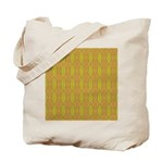 Retro Yellow Pattern Tote Bag
