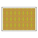 Retro Yellow Pattern Banner