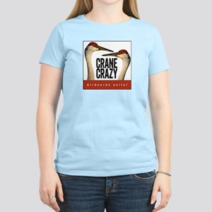 Crane Crazy Women's Light T-Shirt